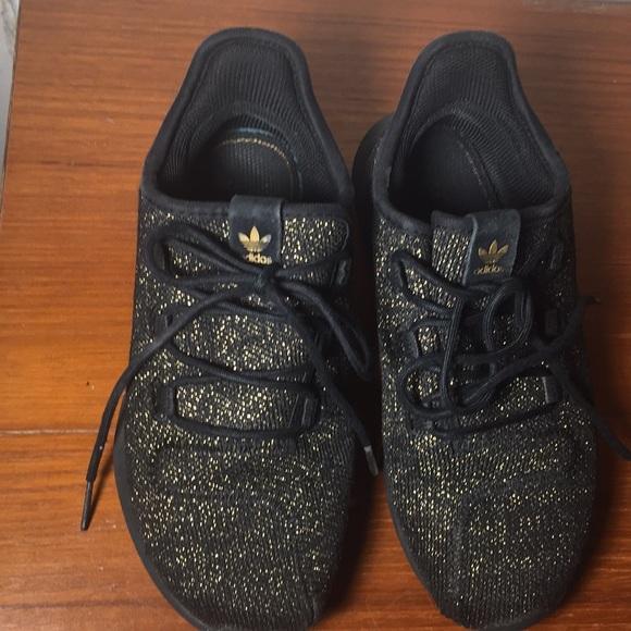 huge discount 04d40 13c70 Adidas Tubular Black gold Ortholit Sneakers Kids 2
